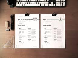 free minimalist resume template free design resources