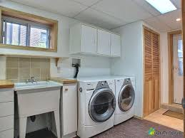 unusual design ideas basement laundry room unfinished home decor