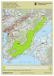 Forest Park Map Rimutaka Forrest Park Page 2