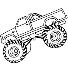 monster jam landing monster truck coloring pages color luna