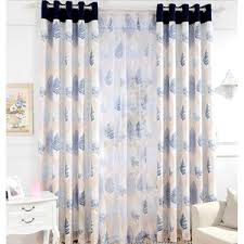 Blue And White Floral Curtains Royal Blue Curtains