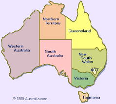 map of australia regional map of australia travel maps and major tourist