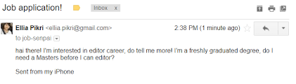 how to write an email that will get you that job you u0027re applying for
