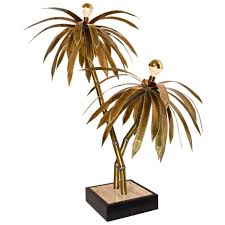 Tree Floor L L Palmtree L Brass Palm Tree Sincerely Owl Neon