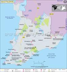 city map of brazil salvador map city map of salvador brazil