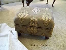 a stroll thru life make u0026 upholster an ottoman