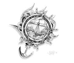 design ship anchor and ropes by drocel on deviantart
