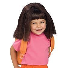 dora halloween party decorations dora the explorer wig child u0027s costume accessory dora the