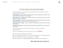 Cashier Job Description For Resume by The New Rules Of Sales Enablement Ebook