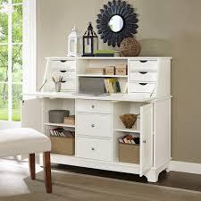 O Sullivan Computer Desk With Hutch by Crosley Kf65001wh Sullivan Secretary Desk In White Finish