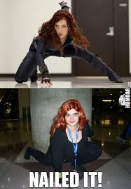 Black Widow Meme - avengers black widow nailed it humoar com