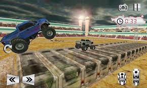 monster truck game video monster truck stunt rampage android apps on google play