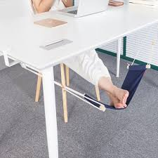 under desk foot rest hammock