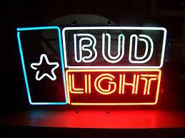 bud light neon light bud light flag of texas neon sign 29 x18 good old sign no