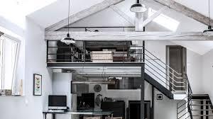 hauteur fenetre cuisine mezzanine inspiration gain de place côté maison