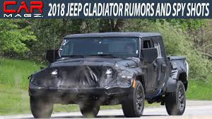 jeep concept truck gladiator 2018 jeep gladiator truck rumors and release date youtube
