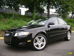 2003 Audi A4 Sedan Audi A4 2006 Black