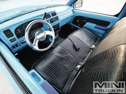 nissan frontier interior 1998 nissan frontier blue curse mini truckin u0027 magazine