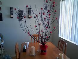 black and red tree centerpiece family tree weddingbee photo gallery