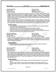 social work resume example social worker resume template