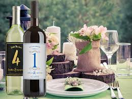 Wine Bottle Centerpieces Dress Up Your Wedding Reception With Wine Bottle Centerpieces