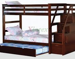 loft bed with stairs and storage in stylish stairs expansive