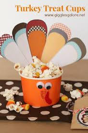 thanksgiving cups turkey treat cups thanksgiving cups and holidays