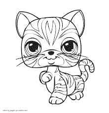 littlest pet shop cool lps coloring book coloring page and