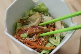 cuisiner vermicelle de riz salade de vermicelles de riz fenouil et poulet chez requia