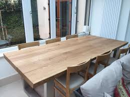 Rustic Kitchen Tables Abacus Tables - Rustic oak kitchen table