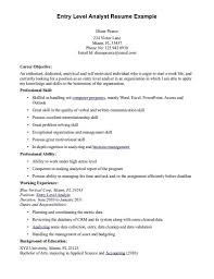 Best Resume Objective Quotes by Trendy Design Resume Objective Entry Level 16 Accounting Cv