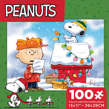 snoopy doghouse christmas decoration peanuts snoopy s doghouse family puzzle puzzlewarehouse