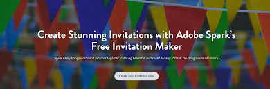 Design Invitation Card Online Free Invitation Maker Create Invitations For Free Adobe Spark