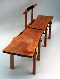 Slab Wood Table by All Wood Walnut Slab Table With Hard Maple Legs By Lumaworks