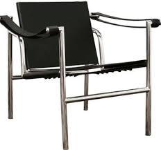 Black Leather Accent Chair Wholesale Interiors Dc 501 Baxton Studio Peri Mid Century Modern