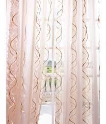 firemol get camille taupe gold embroidered sheer curtains u0026 drapes