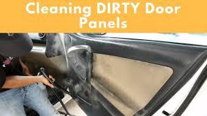 Interior Car Shampoo 2 Methods To Clean Interior Door Panels Interior Car Cleaning