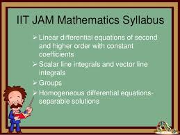 jam exam pattern 2016 iit jam 2017 syllabus