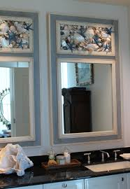 Mirrors Bathroom Scene by Seashell Mirrors By My Honeypickles Www Etsy Com Shop