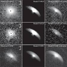 panchromatic imaging of a transitional disk the disk of gm aur in