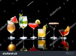 christmas martini glass clip art selection colorful festive christmas drinks alcoholic stock photo