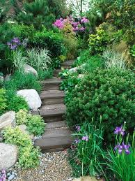 How To Create A Beautiful Backyard Best 25 Sloped Yard Ideas On Pinterest Sloping Backyard