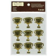 where to buy gold foil buy the signature gold foil trophy dimensional stickers by