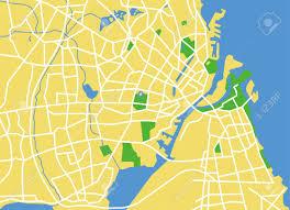 map of copenhagen precisely vector city map of copenhagen denmark royalty free