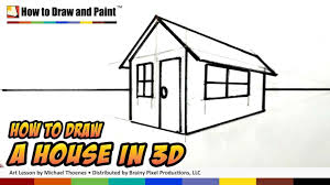 easy house drawing for kids to draw a scenery children step by