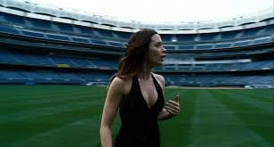 the adjustment bureau emily blunt as elise sellas in dress the adjustment bureau