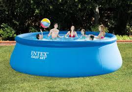 Intex 14 X 42 15ft X 48in Easy Set Pool Set Easy Set Above Ground Pools