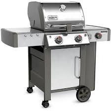 weber genesis ii lx s 240 freestanding propane gas grill