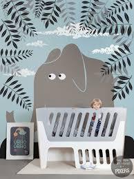 papier peint chambre bébé garçon chambre bebe garcon deco mineral bio