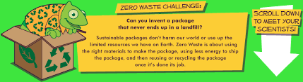Challenge Science Zero Waste Get Info Science Challenge Educational